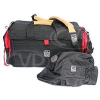 Portabrace DVO-1RQS-M2 (DVO1RQSM2) DV Organizer Bag and Quick Slick (internal dimensions: 43.18 x 19.05 x 20.96 cm) (black with red trim)
