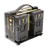 Hawk-Woods RP-4X4 (RP4X4) 4-Channel Reel Power Simultaneous Battery Charger (for ARRI Alexa)
