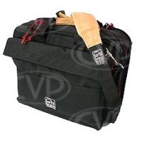 Portabrace DC-3VB (DC3VB) Directors Case with built in laptop glare visor- fits most 17 inch laptops (internal dimensions: 43.18 x 12.70 x 33.02 cm ) (black)