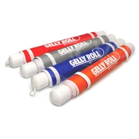 Visual Departures Gelly Roll - Lighting Colour Correction Gel & Case - Available in Orange, Blue, Red and Grey