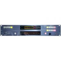 TSL AMU2-2BHD+ (AMU22BHD) 2 Series Audio monitoring unit, 2RU, 1 x HD/SDI, 1 x Quad Analogue, 2 x AES inputs, 2 dual 106 segment bargraph displays