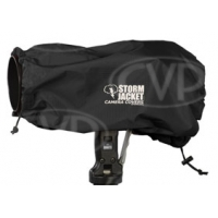 Vortex Media Pro Model Storm Jacket Camera Cover for SLR Cameras - Medium, Large, XL, XXL (Black)