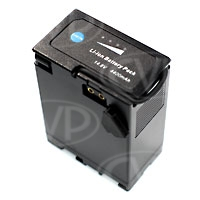 Powerlok BP-U65 65WH (BP-U60) high capacity battery pack for Sony PMW-EX1, EX1R, EX3 and EX3/2 camcorders (14.8V, 4.4Ah, 65Wh)