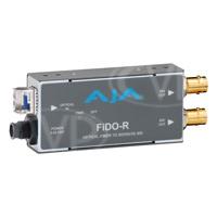 AJA FiDO-R - Single Channel Fibre to SDI Converter with Dual SDI Outputs