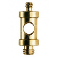 Manfrotto 118 Short 16mm spigot with 1/4in to 3/8in male screw 118 - Also as ARRI LS.118 (LS118)