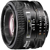 Nikon 50mm F1.4D AF NIKKOR Lens (p/n JAA011DB)