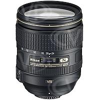 Used Nikon JAA811DA Nikon 24-120mm f/4 ED VR AF-S NIKKOR Lens