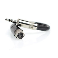 CVP SD-XL-7 (SDXL7) Audio Mixer Cable 3 pin mini XLR to 3.5mm jack for use with Sound Devices 302 and 552 tape out (0.15m)