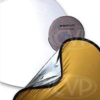 Westcott 1030 Gold/Silver 4-in-1 Reflector Kit - 42 inch