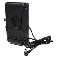 IDX TA-PV2J650 (TAPV2J650) V-Mount Adaptor for the JVC GY-HM600 and GY-HM650 Cameras
