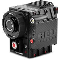 RED EPIC-M Carbon Fibre 6K 19MP Cinematography Camera with RED MINI-MAG SSD Side Module and PL Lens Mount (p/n 710-0162)