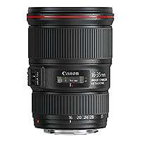 Canon EF 16-35mm f/4L IS USM L Series Ultra-Wide Angle Zoom Lens with 4-stop image stabilizer (9518B005AA)