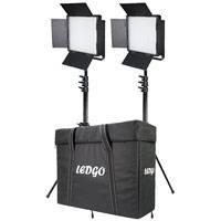 Datavision DVS-LEDGO-900BCLK2 (DVSLEDGO900BCLK2) Dual LEDGO-900 Dual Colour Location Lighting Kit with, 2x Stands and Carry Case
