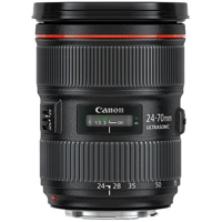 Canon 24-70mm f2.8L II UsM L Series Standard Zoom Lens - Canon EF Mount (p/n 5175B005AA)