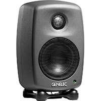 Genelec 8010 (8010-APM) Compact 2-way Bi-Amplified Active Monitor in Matt Black (Single Speaker)