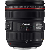 Canon EF 24-70mm f/4L IS USM L Series Zoom Lens (p/n 6313B005AA)