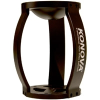 "Konova K-RISER (KRISER) Riser to Mount 75mm/100mm Bowl Tripod Head to 3/8"" Sliders (Compatible with all Konova Sliders)"