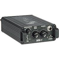 Sound Devices MM-1 (MM1) Single Channel Portable Microphone Pre-Amplifier with Headphone Monitoring