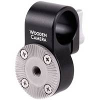 Wooden Camera 19mm Rod Clamp to ARRI Rosette (p/n 220100)