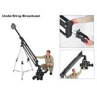 EzFx UnderSling Broadcast Bracket allows you to hang camera from inverted end of Jib (p/n EZ US 1.0)