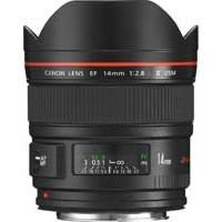 Canon EF 14mm f2.8L II UsM ultra-wide-angle lens (p/n 2045B005AA)