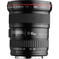 Canon EF 17-40mm f/4L UsM L Series Ultra Wide Angle Zoom Lens (p/n 8806A007AA)
