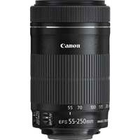 Canon EF-S 55-250mm f4-5.6 IS STM Lens for APS-C Format DSLRs (8546B005AA)
