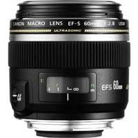 Canon EF-S 60mm f/2.8 Macro UsM Lens (P/N 0284B007AA)