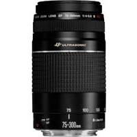 Canon EF 75-300mm f/4-5.6 III USM EOS Mount 35mm SLR Zoom Lens (p/n 6472A012AA)
