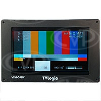 Ex-Demo TVlogic VFM-056WP (VFM056WP) High Resolution 5.6-inch LCD Field Monitor with 3G HD-SDI Input, 1:1 Mode and Waveform