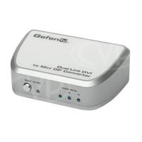 Gefen GTV-DVIDL-2-MDP (GTVDVIDL2MDP) Dual-link DVI to Mini DisplayPort converter - connect Apple 27inch Cinema Displays to DVI based graphics cards