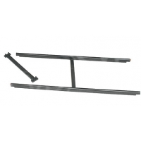Egripment Pack Track Straight (aluminium) one straight section (2 bars; inner and outer straight bar) with 2 crossbars (151/ALU)