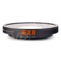 16x9 inc. EXII super fisheye 0.45x wide angle lens adaptor with 82mm thread mount for JVC HM700 and Panasonic HPX300 (When Using Fujinon 17X Lens), HVX200 (not for HVX200A) (169-HDSF45X-82)