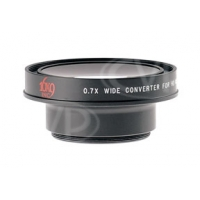 16x9 inc. EXII 0.7x wide angle lens converter with 43mm thread mount for compact HD camcorders (169-HDWC7X-43)
