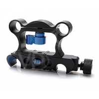 Redrock Micro 2-064-0001 (20640001) microRiser v2 - quick release - raises front rods so accessories can be used with tall DSLR cameras such as 1D MK IV or battery grip - includes quick release