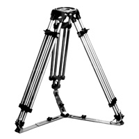 Ronford Baker 10001 heavy duty single stage tall tripod 890-1730mm height with MITCHELL top plate fitting (legs only) p.n RF.10001/M
