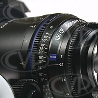 Zeiss (1842-769) 100mm T/2.1 T* Compact Prime CP.2 Lens (PL Fit / Metric Scale)