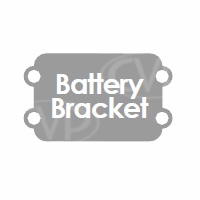 TV Logic (BB-056V) Battery Bracket to allow Sony V-mount type batteries to power the VFM-056W/WP monitor