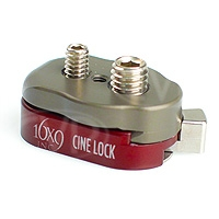 16x9 inc. Cine Lock (169-CL-01) Quick Release Mounting Bracket for Use with Noga Articulated Arms