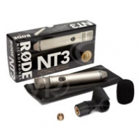 Rode NT3 (NT-3) Studio and Location Multi-Powered Condenser Microphone