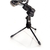 Rode Collapsible Mini Tripod for mounting lightweight microphones that support 1/4 inch mounting