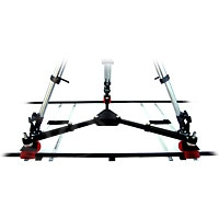 IDS Indie Dolly Systems IND.SPR.D lightweight Singleman Dolly for curved or straight track use (EXCLUDES TRACK)
