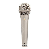 Rode S1 (RODES1) Handheld Live & Studio Condenser Microphone with super-cardioid polar response, supplied with pouch & M1 stand mount (Nickel Finish)