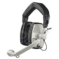 Ex-Demo Beyerdynamic DT 109 (DT-109) double sided headset, w/ 1.5m straight cable & male 5-pin XLR - 50 ohm (black)