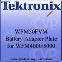 Tektronix WFM50FVM (WFM-50-FVM) Sony / IDX Battery Adapter (V - Mount, Battery & Charger NOT included) for WFM4000/5000 waveform monitors