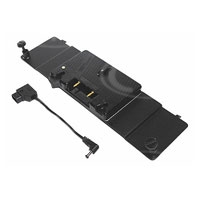 Litepanels 1DV-GAP (1DVGAP) 1X1 AB Gold-Mount Battery Adapter Plate includes 2-pin d-tap power cable (p/n 900-3015)