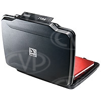 Peli Products 1075 Hardback Case with Watertight and Crush Resistant Armour for Netbooks or Tablets (Pelican, Pelicase) (Internal Dimensions: W 28.2 cm x D 20.1 cm x H 4.1 cm)