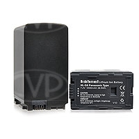 Hahnel HL-G6 (HLG6) Lithium Ion Battery Replacement for Panasonic VW-VBG6 - p/n 1000 170.6 (10001706)