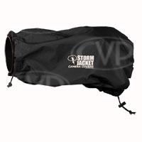 Vortex Media Standard Model Storm Jacket Camera Covers for SLR Cameras - Small, Medium, Large, XL, XXL (Black)