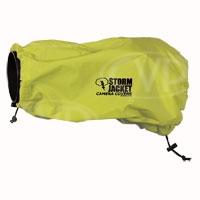 Vortex Media Standard Model Storm Jacket Camera Covers for SLR Cameras - Small, Medium, Large (Yellow)